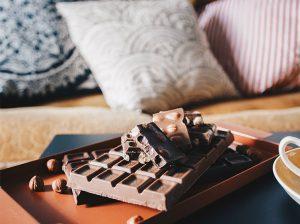 Chokladprovning online för två